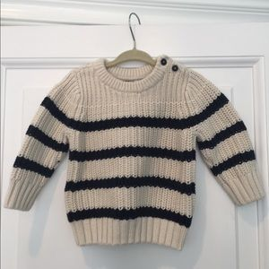 Adorable Baby Gap boys heavyweight sweater